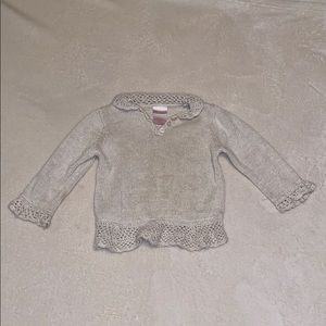 Girls 2T Sparkle Sweater